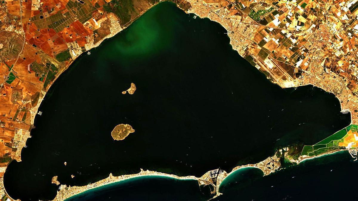 Imagen del día 12 de septiembre de 2021 tomada por el satélite Sentinel 2, controlado por la Agencia Espacial Europea    AEE
