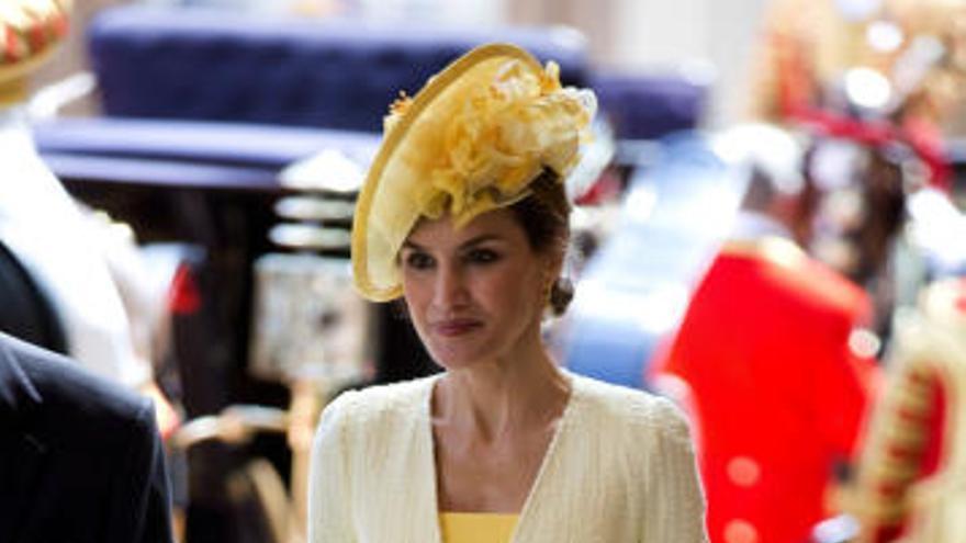 La reina Letizia brilla con luz propia en Reino Unido