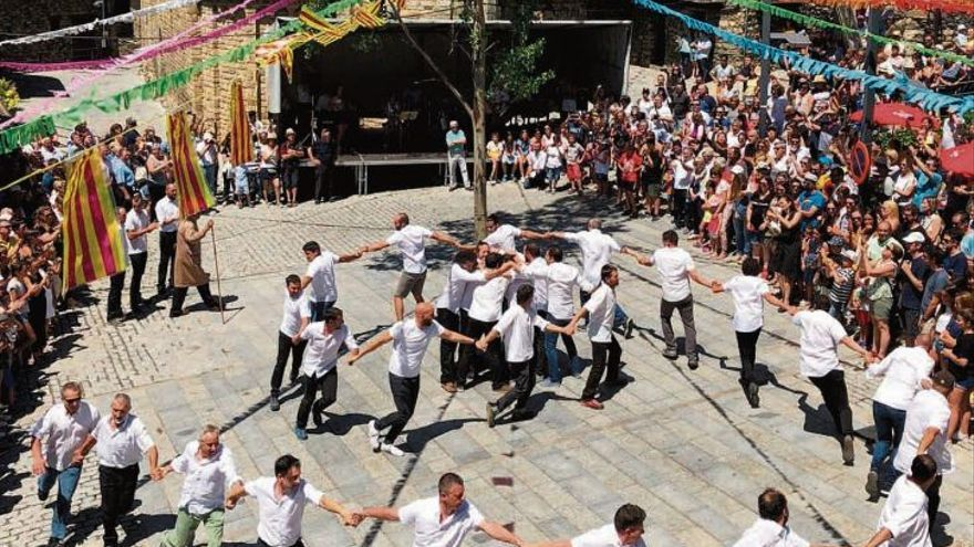 Torres humanes tradicionals: el Ball de Sant Isidre i la Pila de Taüll