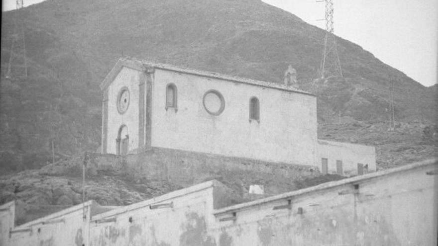 La iglesia de Escombreras