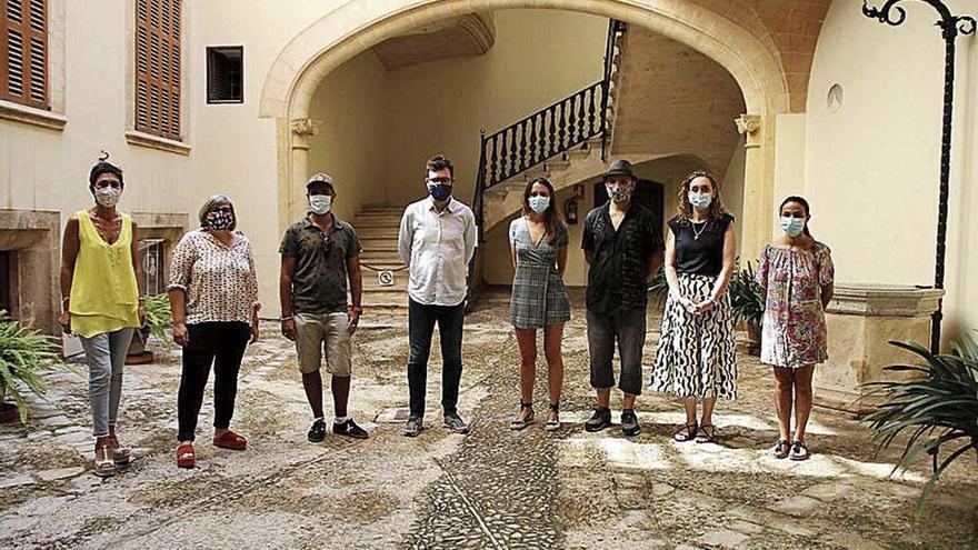 Son Güells, escenario de una jornada de arte urbano
