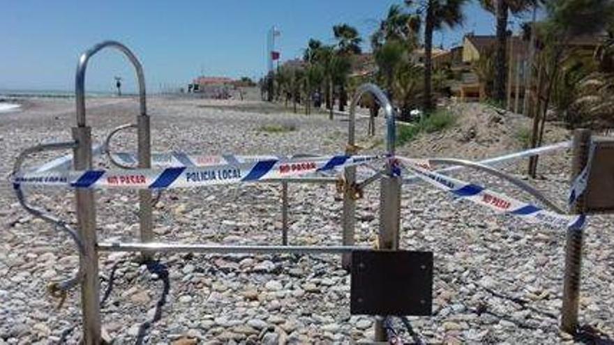Planes de mínimos para vigilar las playas de Castelló, aún sin turistas