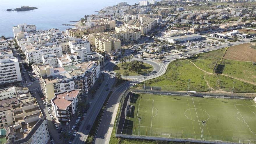 La urbanización dispersa de Sant Josep ocupa seis veces más suelo que la ciudad de Ibiza