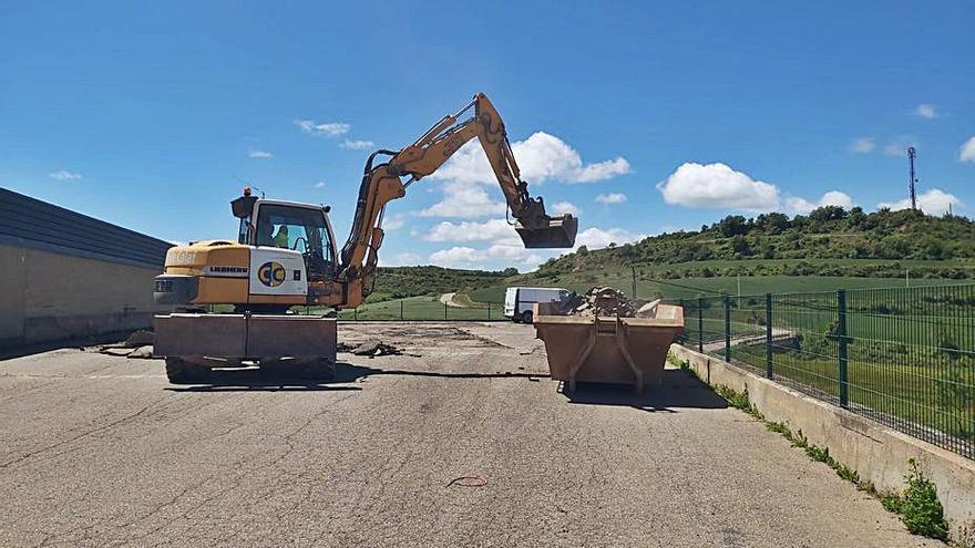 Calaf inicia la construcció del futur tanatori municipal