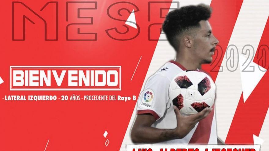 Luis Alberto Meseguer también llega al Zamora CF