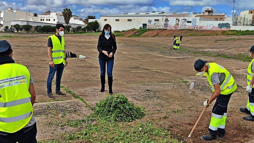 La conservación de los recursos hídricos de Lanzarote ocupa a 38 desempleados