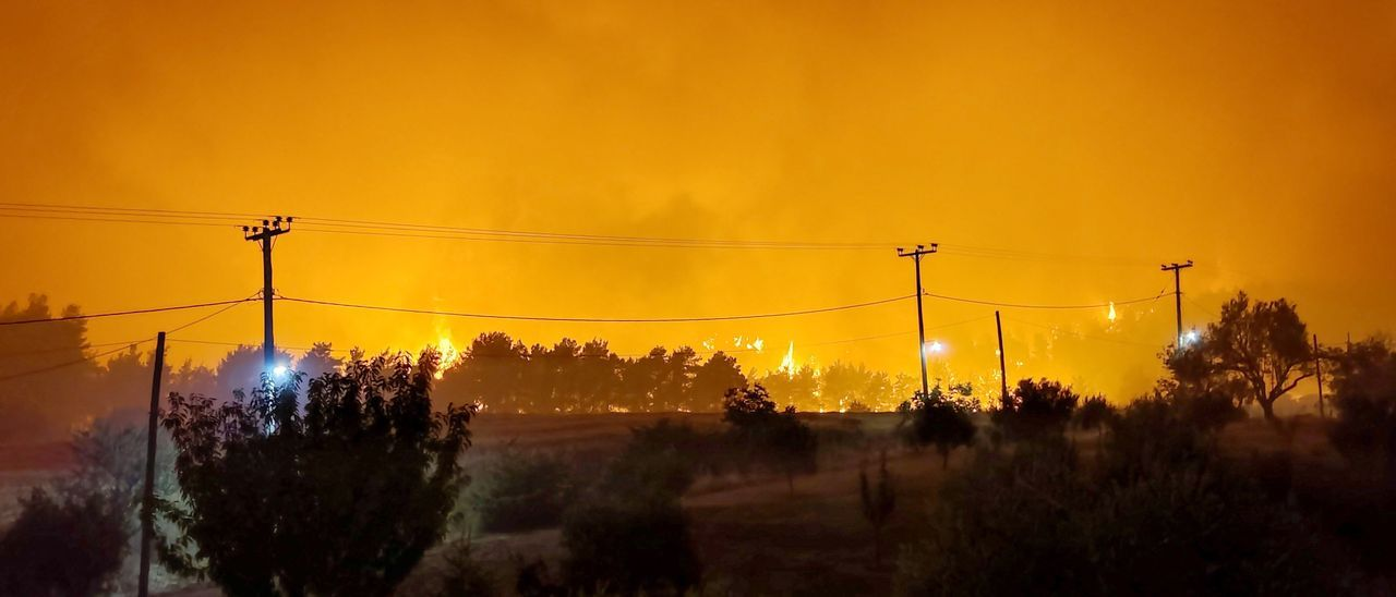 Incendios en Grecia y Turquía