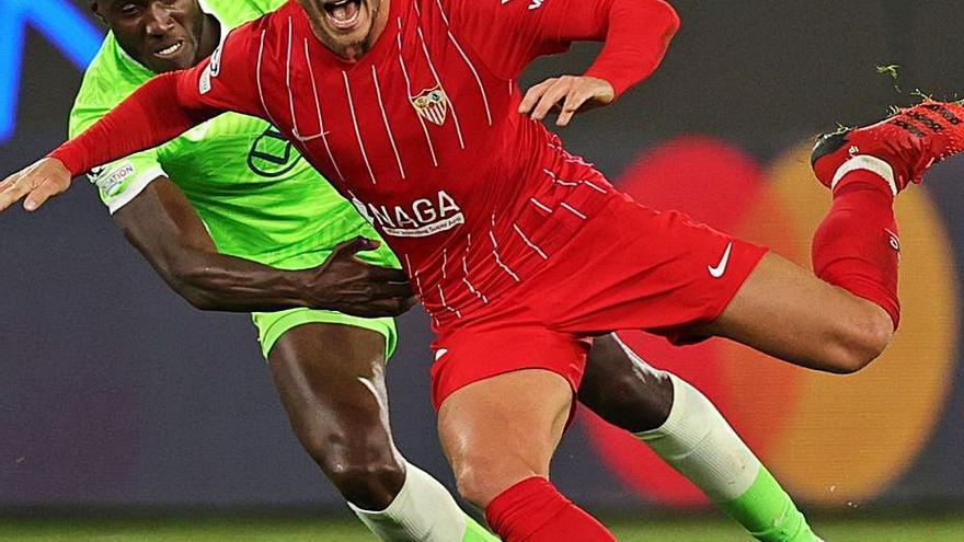 El Sevilla suma con un penalti agónico