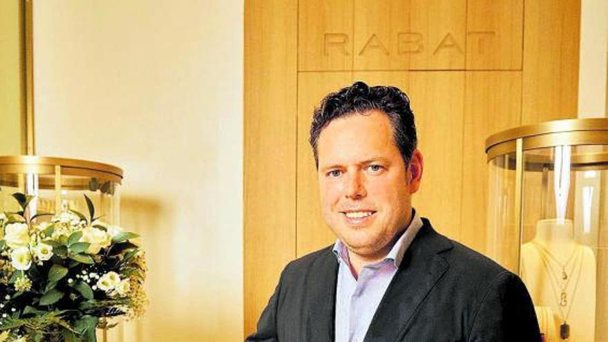 Jordi Rabat, consejero delegado de Rabat: «Lo más bonito que puede tener una joya es que recuerde un viaje a Ibiza»
