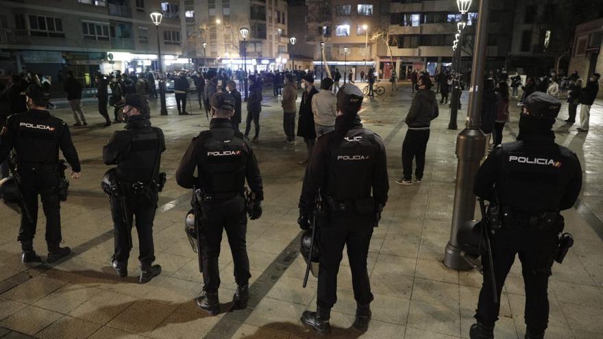 Manifestación en Palma por la libertad de Pablo Hasél