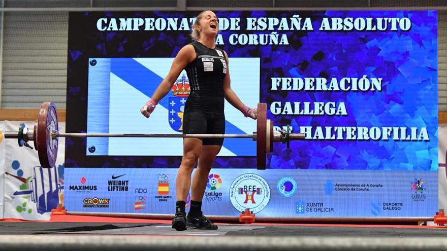 La coruñesa Irene Martínez, récord de España y dos oros
