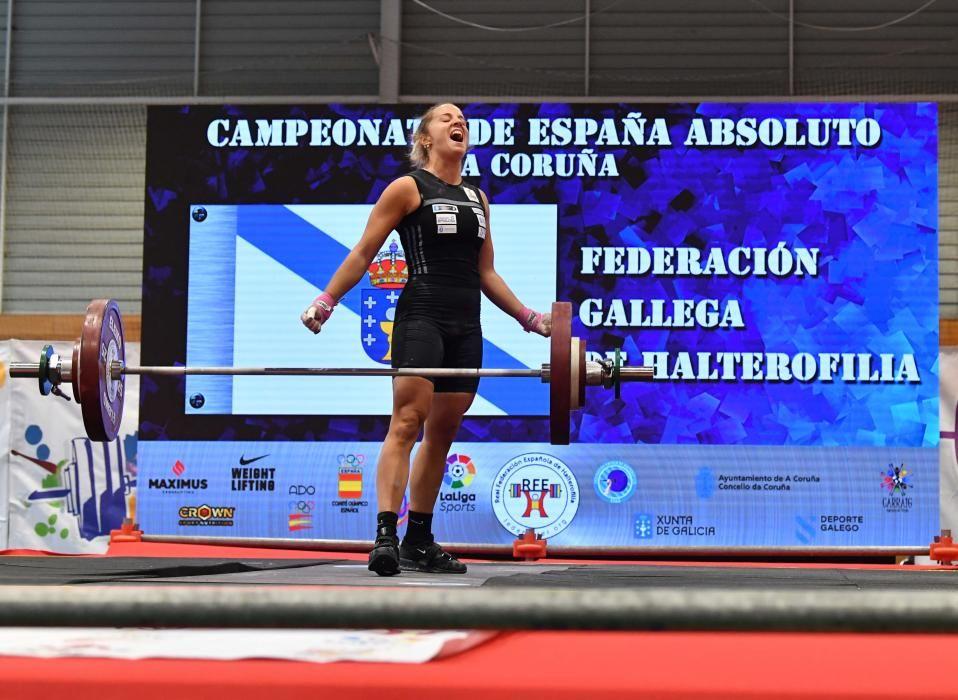 La coruñesa Irene Martínez, récord y dos oros