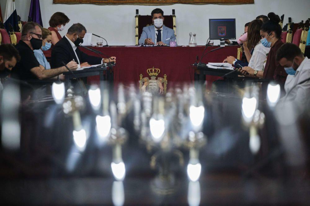 Pleno del Ayuntamiento de La Laguna