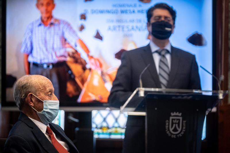 """Homenaje a Domingo Mesa, """"el último alabardero"""""""