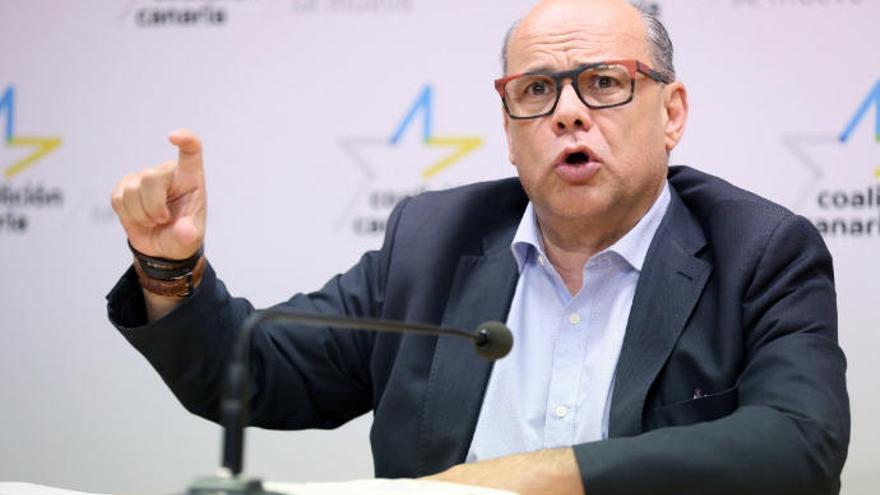 """Barragán dice que """"no ha habido absolutamente nada"""" que implique a CC en el 'caso Lezo'"""