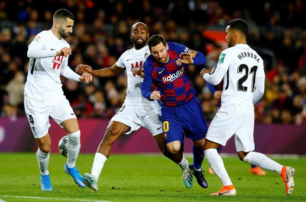 LaLiga Santander: FC Barcelona - Granada.