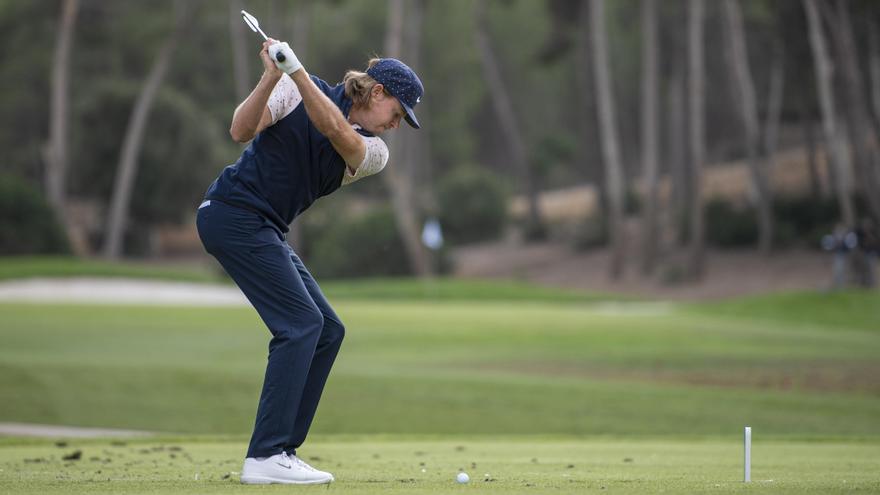 Alexander Knappe, nuevo líder del torneo de golf 'Road to Mallorca'