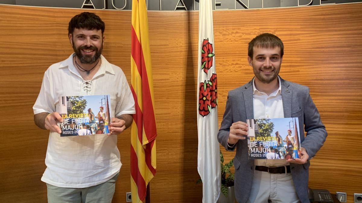 L'Ajuntament de Roses ha presentat aquest matí la programació de la Festa Major 2021 i de la revista municipal