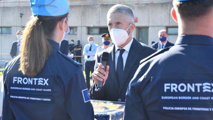 Interior mantendrá la colaboración con Frontex para afrontar amenazas comunes
