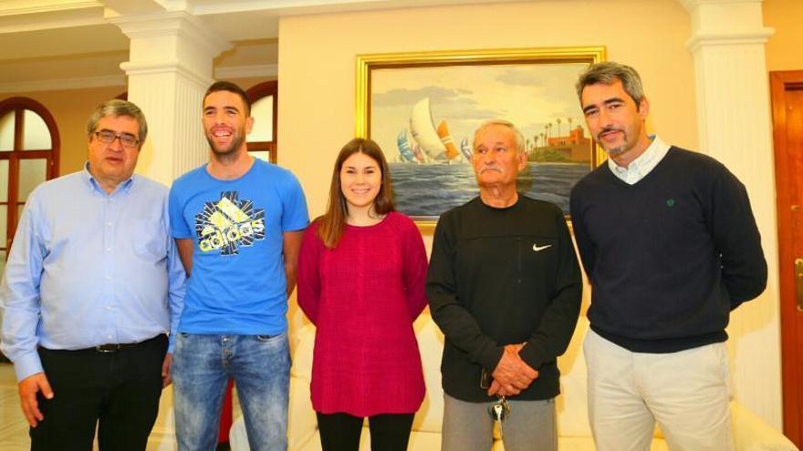 Honores en Benalmádena a dos campeones de España