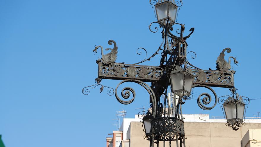 Leds para la antigua Farola de Castelló