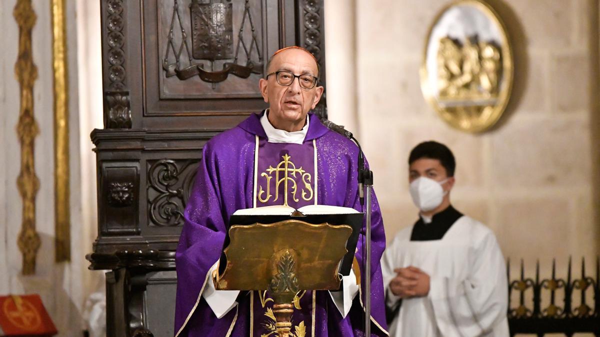 El cardenal Omella.