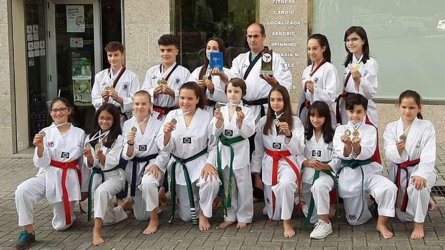 El Olímpic finaliza segundo en Ourense