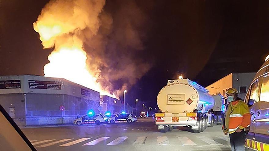 La planta de Silence en Molins de Rei, Barcelona, sufre un incendio