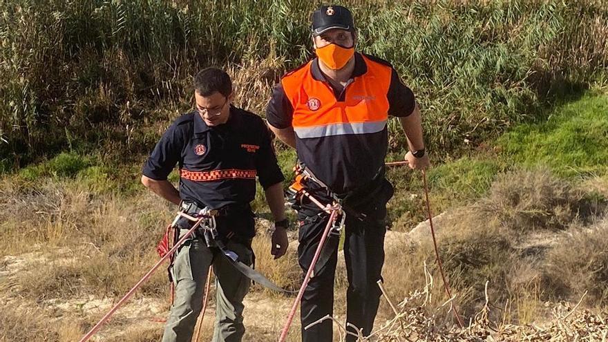 Curso para Protección Civil de El Campello para actuaciones en la montaña