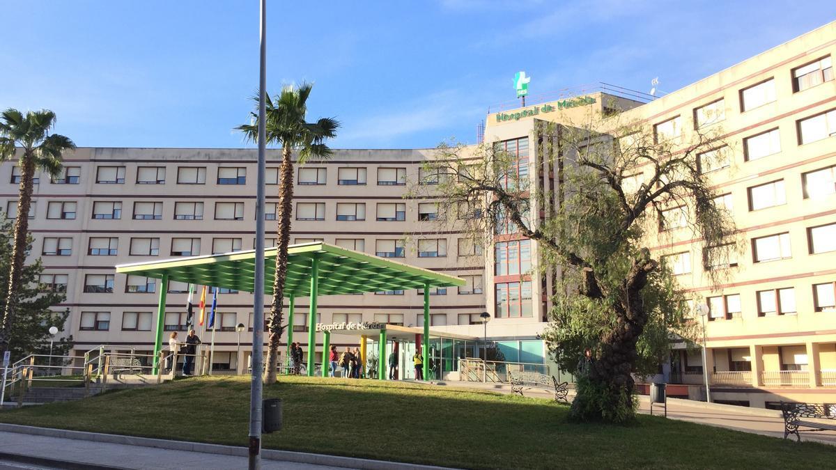 El Hospital de Mérida, en una imagen de archivo.