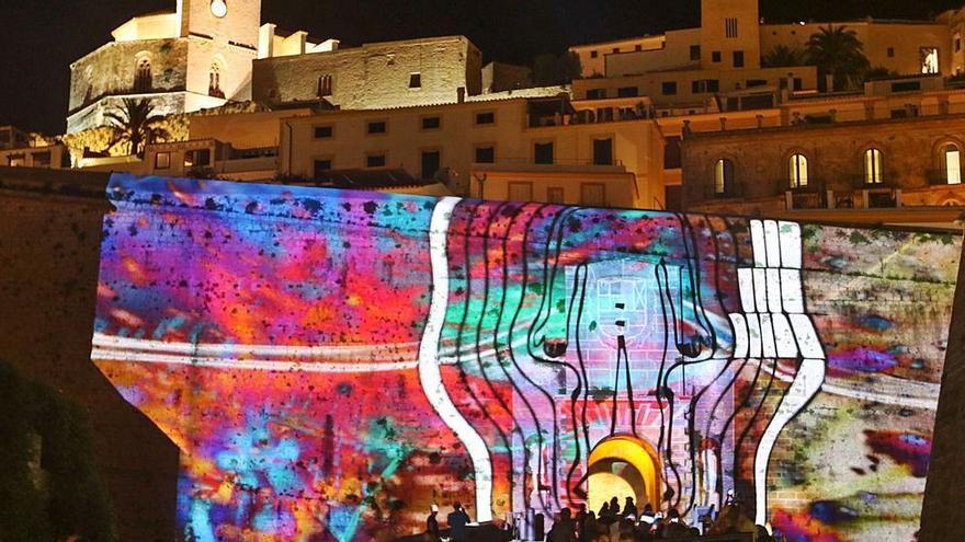 Anuladas las proyecciones de hoy del Ibiza Light Festival por la tormenta