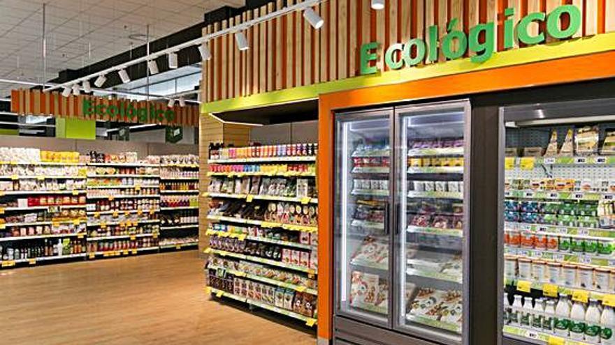 HiperDino triunfa con los productos ecológicos
