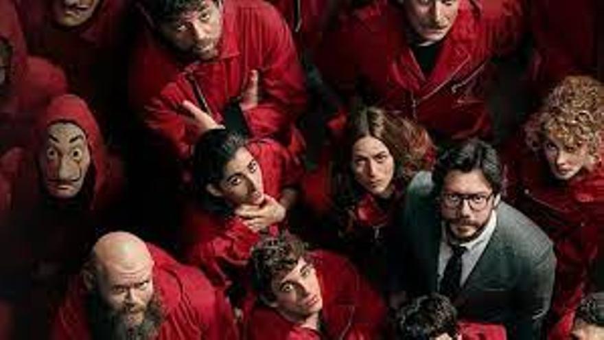 Una empresa da el día libre a sus trabajadores para que vean el estreno de la Casa de Papel