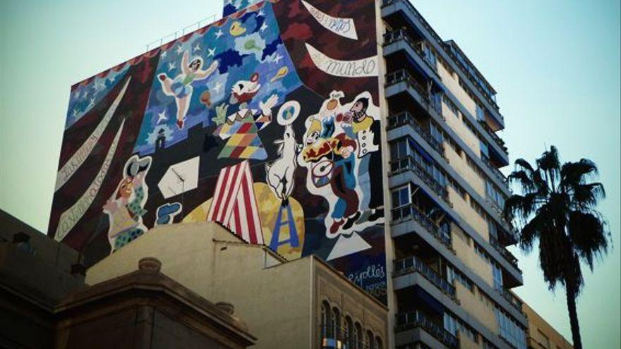 La polémica de la retirada del mural de 'Ripo' llega al pleno de Castelló