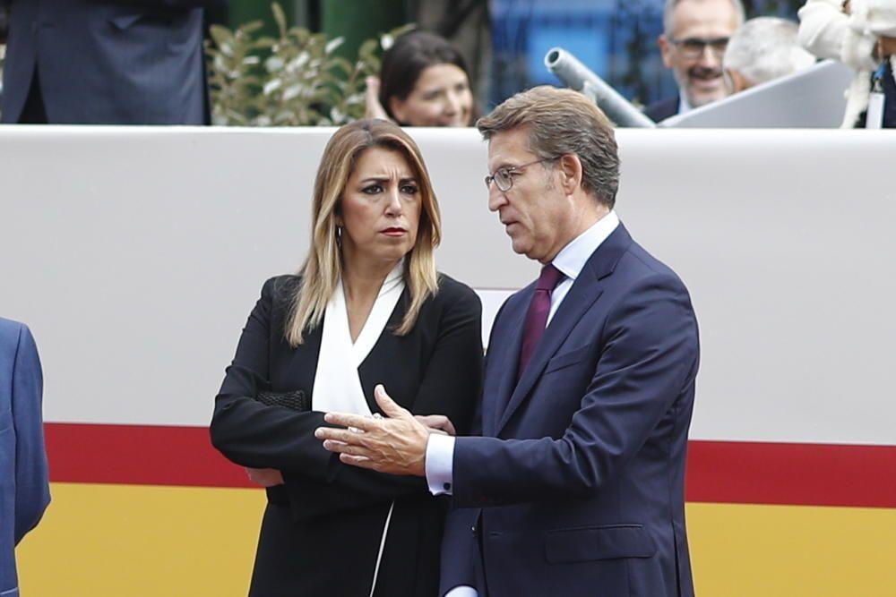 La presidenta de la Junta de Andalucía, Susana ...
