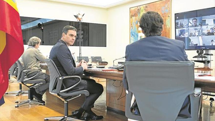 Sánchez ofrece cogobernanza para prorrogar la alarma