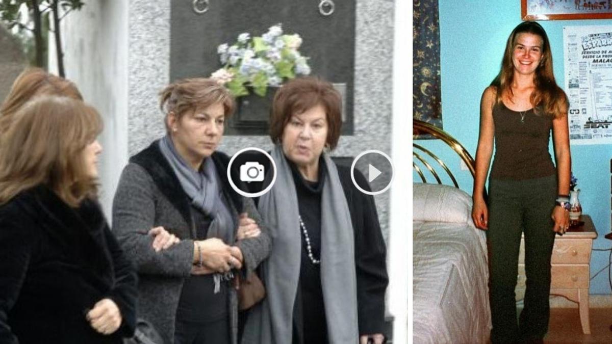 Dolores Vázquez,  que pasó 17 meses en la cárcel por el caso Wanninkhof del que fue exculpada, acudía al entierro de su madre en 2007, en Betanzos, donde ahora reside.