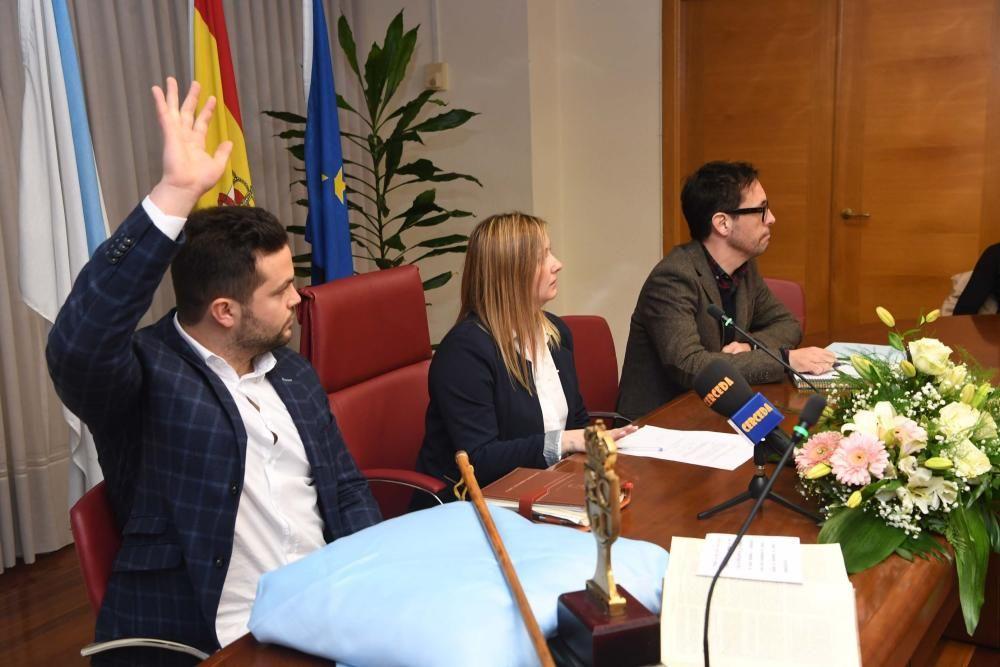 Juan Manuel Rodríguez ya es alcalde de Cerceda