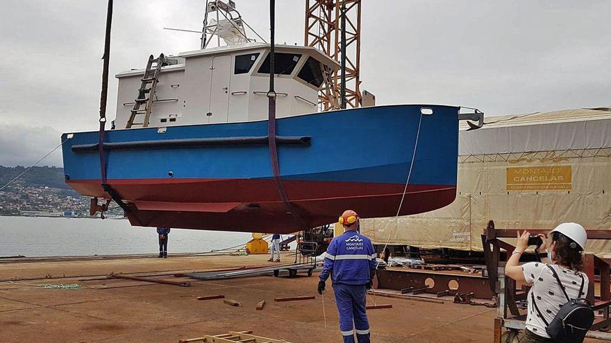Indra y la viguesa Seadrone crean un barco dron para labores oceanográficas en Galicia