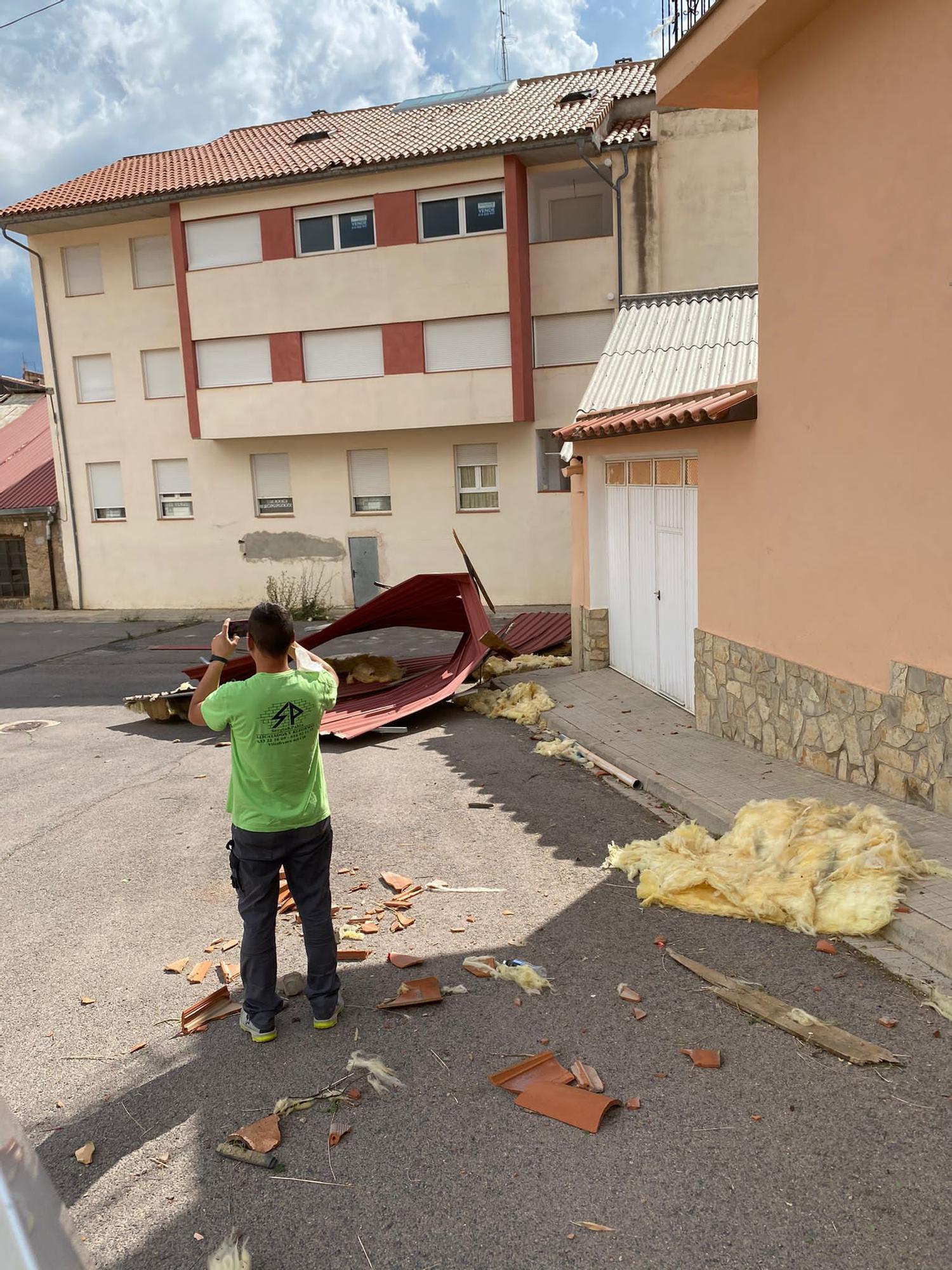 Las mejores imágenes del tornado histórico que ha sorprendido a Vilafranca