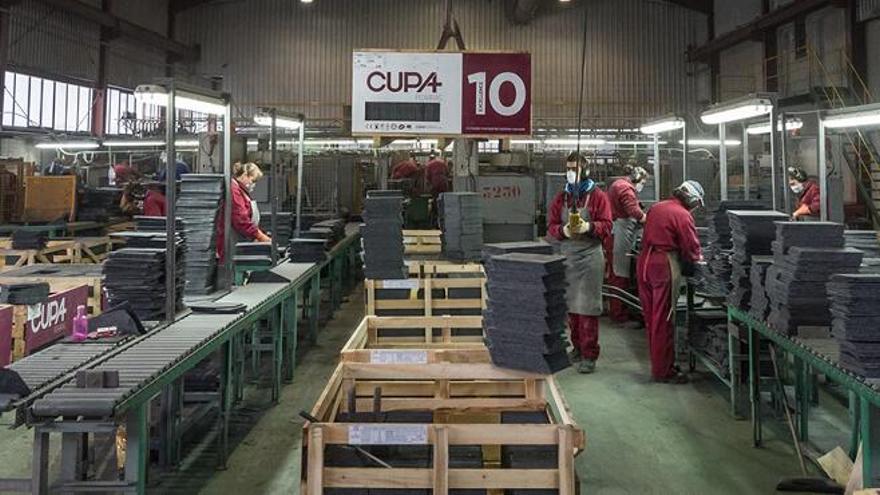 Interior de uno de los centros de producción de Cupa.