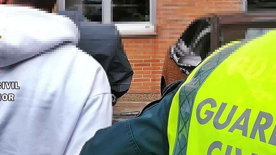 Detenido un varón en San Vitero con cocaína envasada para la posible venta