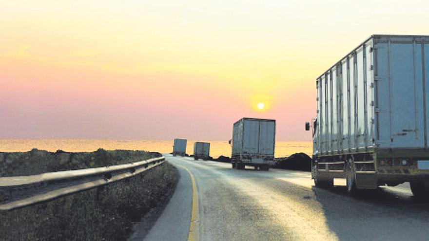 El transporte por carretera tiene la sensación de haber perdido un año