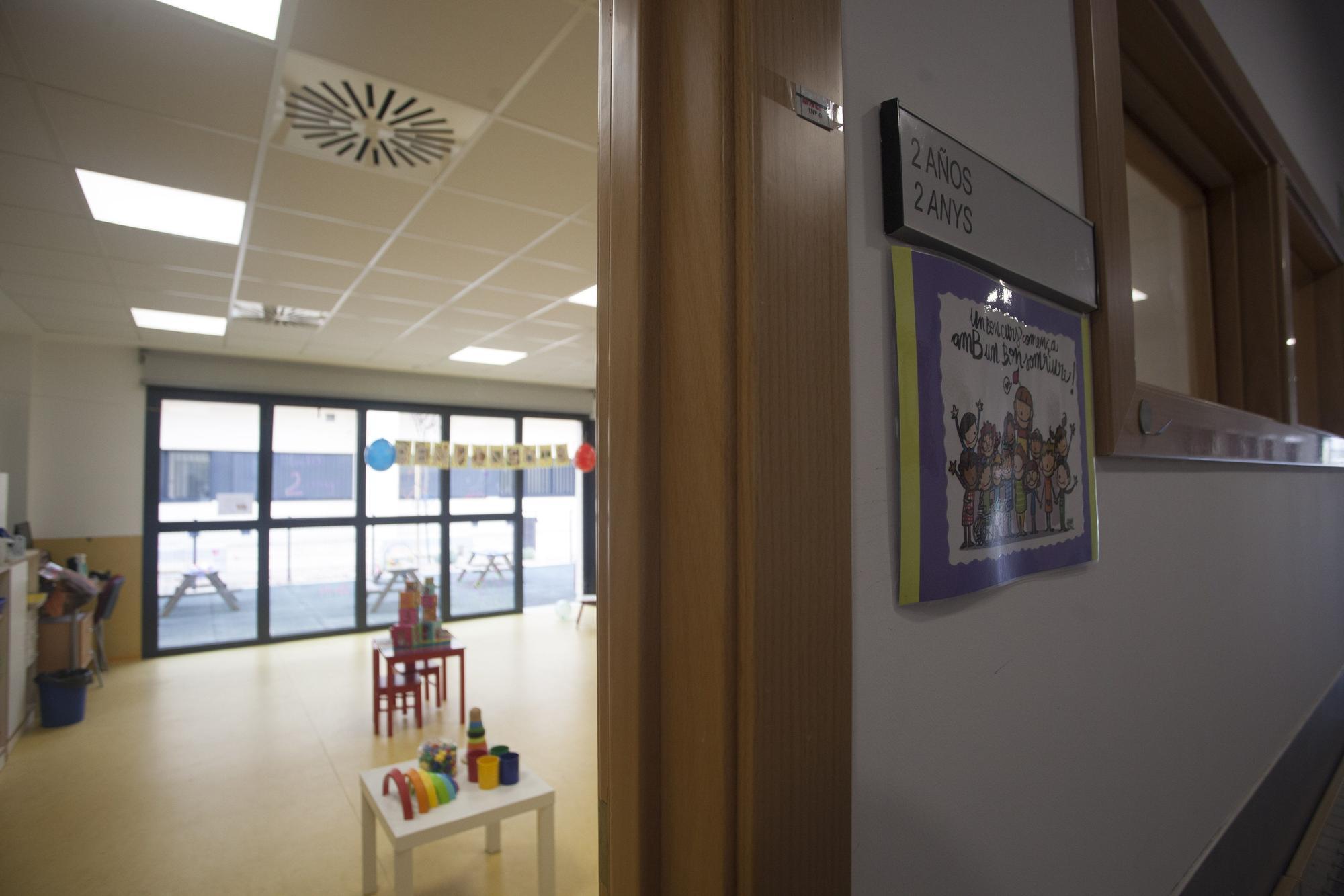 Ximo Puig y Vicent Marzà visitan el CEIP El Rajolar de Aldaia