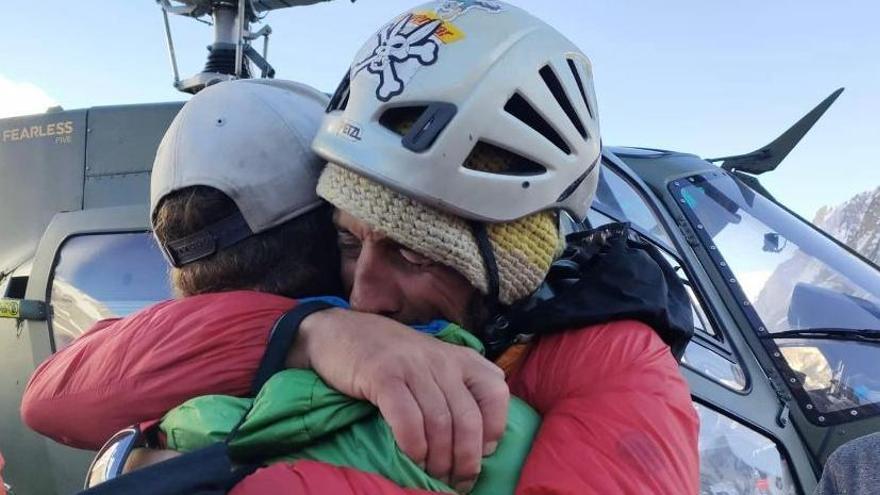 L'alpinista gironí Jordi Tosas esquiva la mort al K2