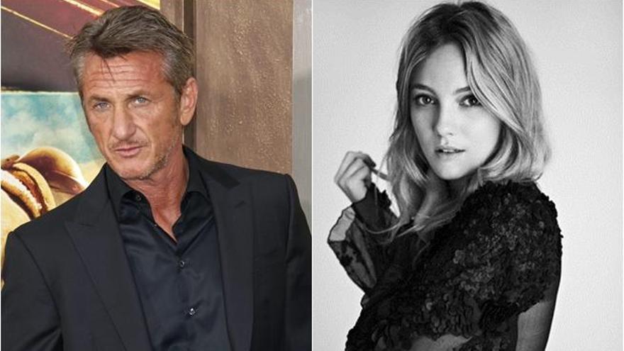 Sean Penn sale con la hija de 24 años de Vincent D'Onofrio