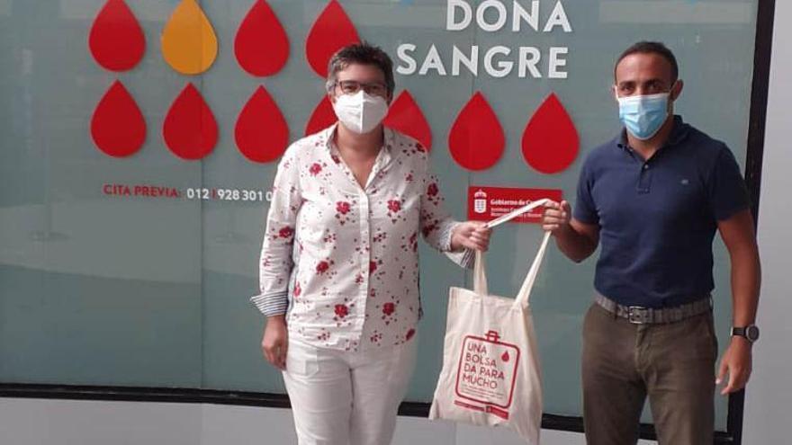 El ICHH comienza una nueva campaña de donación de sangre en el Centro Comercial y de Ocio 7 Palmas