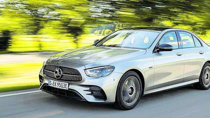 Mercedes-Benz añade más tecnología y eficiencia al sobresaliente Clase E