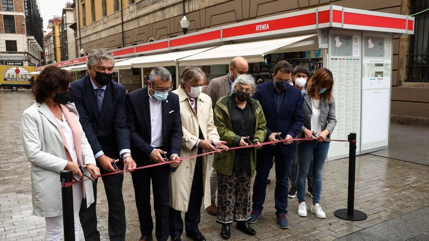 En imágenes: inauguración de la feria del libro de Gijón
