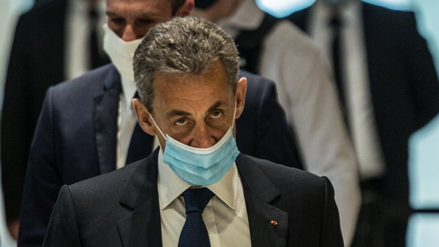 Nicolas Sarkozy, condenado a 3 años de prisión por corrupción